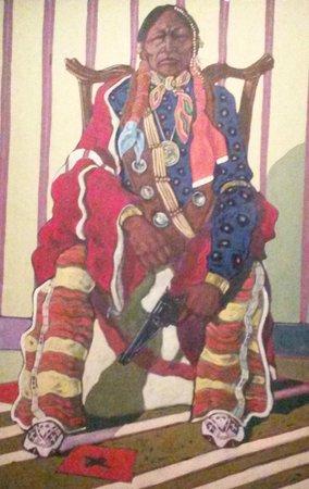 Musee du quai Branly - Jacques Chirac: Indien aux aguets