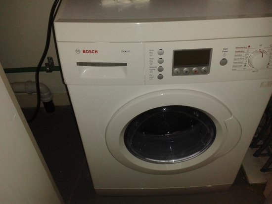 Staying Cool at the Rotunda: Washing Machine
