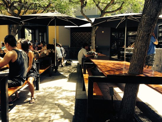 The Outdoor Seating Area Picture Of Horse Thief Bbq