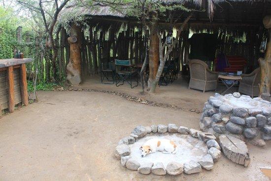 Quatermains 1920s Safari Camp: camp site