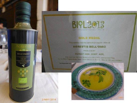 Sicilia in Tavola: Award winning extra-virgin olive oil