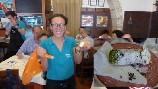 Sicilia in Tavola: Fresh Cannoli
