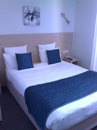 Hotel de la Plage: la chambre