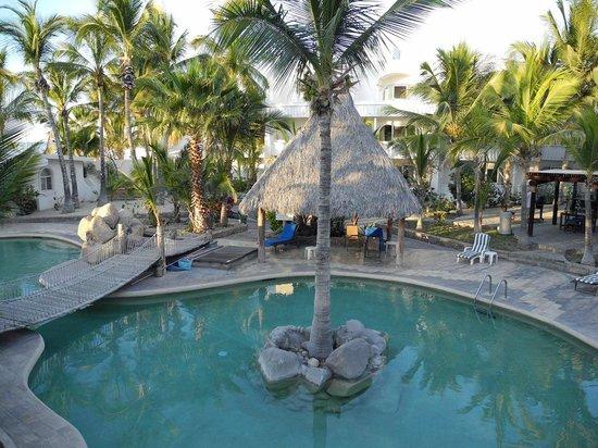 Club El Moro: Blick auf den Pool vom Zimmer aus