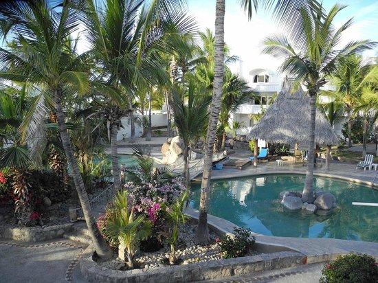 Club El Moro: Blick auf den Pool