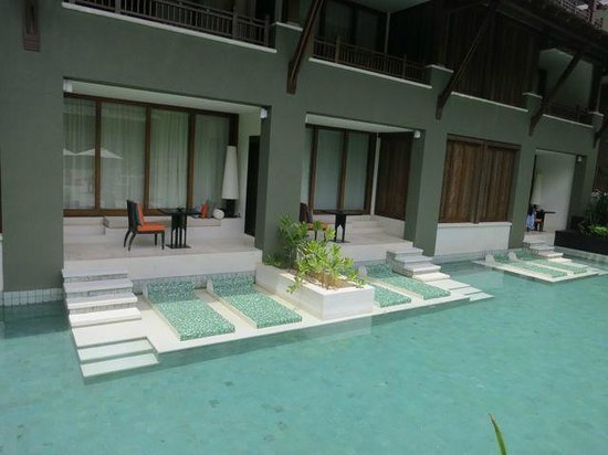 Mai Samui Resort & Spa : Pool access rooms