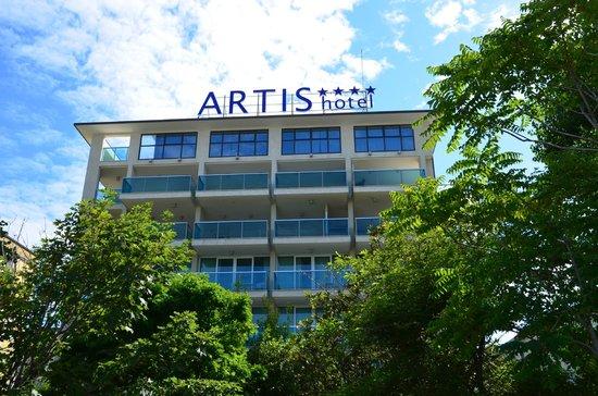Mercure Rimini Artis: Front of hotel