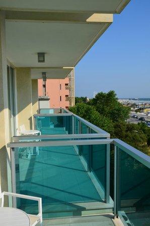 Mercure Rimini Artis : View from balcony