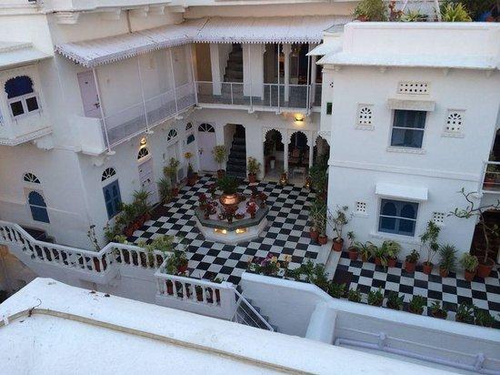 Jagat Niwas Palace Hotel: Hotel view