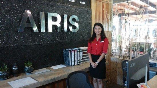 Airis Sanctuary Resort : Miss Ayu, friendly always.