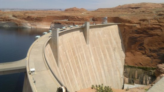 Glen Canyon Dam : Tama