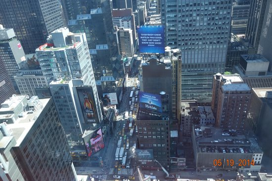 DoubleTree Suites by Hilton Hotel New York City - Times Square : view from our room