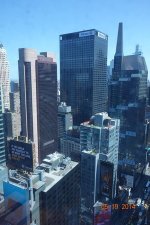 DoubleTree Suites by Hilton Hotel New York City - Times Square: view from 39th floor