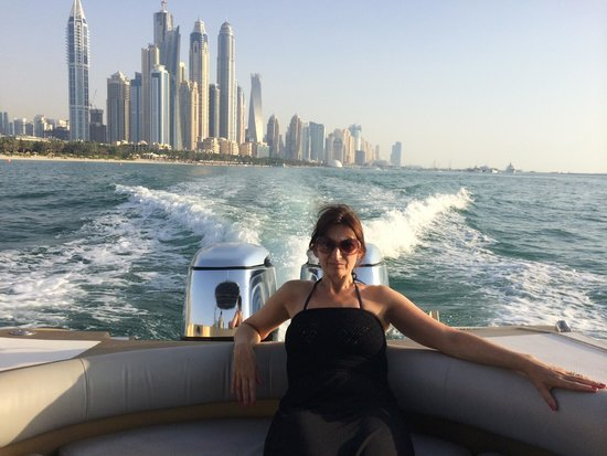 Arabian Court at One&Only Royal Mirage Dubai : Hotel speed boat hire