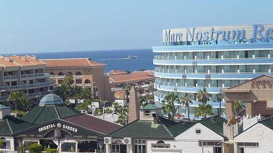Aparthotel Parque de la Paz: Balcony view