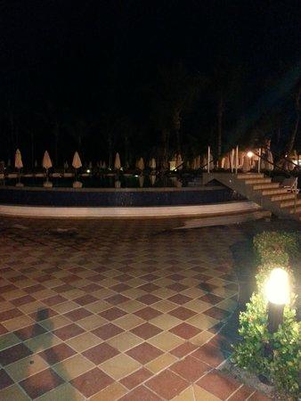Hotel Riu Palace Punta Cana: pool by night