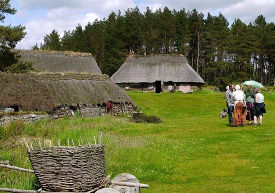 Highland Folk Museum: The older village