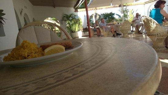 Bungalows Parque Paraiso I: Dining room terace