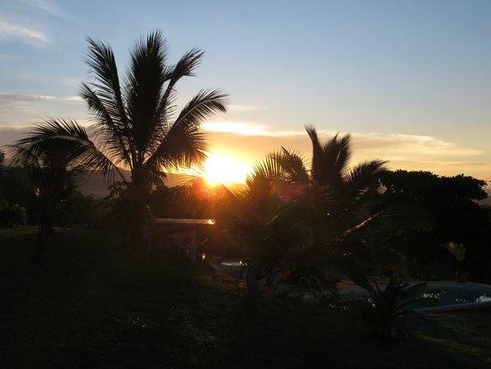 Finca Buena Vista: Sonnenaufgang im Garten