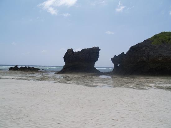 Watamu Beach: scogli