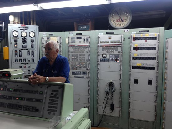 Titan Missile Museum: The missile launch control room