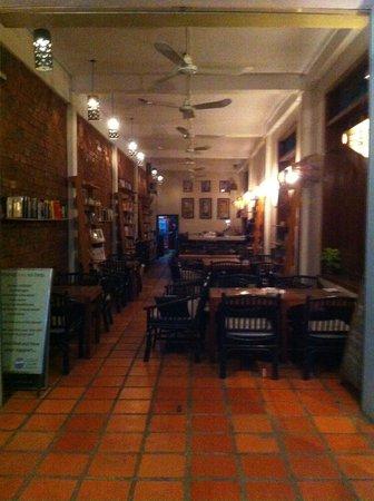 New Leaf Eatery : il porticato