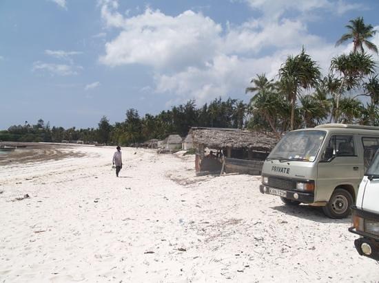 Watamu Beach: arrivo spiaggia