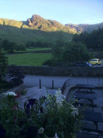 New Dungeon Ghyll Hotel : View from the room