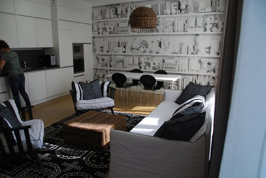 My Home In Vienna - Smart Apartments: Suite Black & White