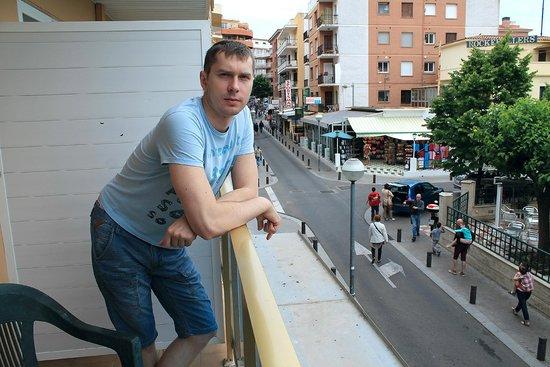 Maria del Mar : Вид с балкона