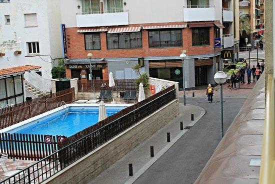 Maria del Mar: Вид с балкона