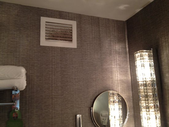 Park Lane Hotel : Filthy Air vent