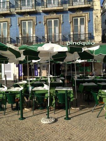 Restaurante Cervejaria Pinoquio : Cervejaria Pinóquio - Lisboa