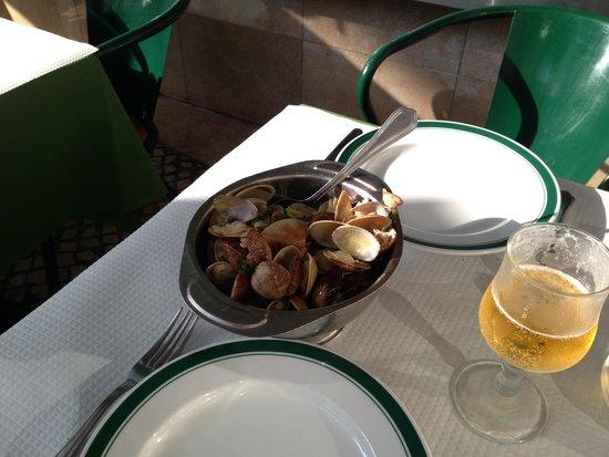 Restaurante Cervejaria Pinoquio : Amêijoas à Bolhão Pato na Cervejaria Pinóquio
