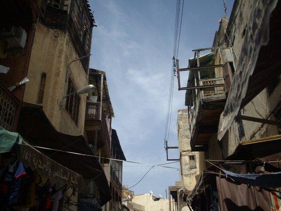 Fez Mellah: Jewish Quarter - Balconies