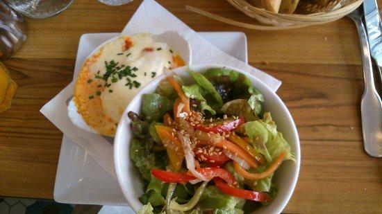 L'Envie: Oeuf cocotte chorizo