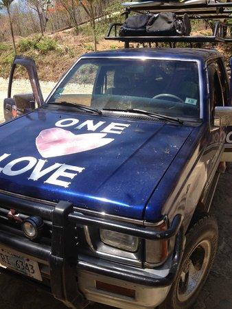One Love Surf School & Shop : One Love truck