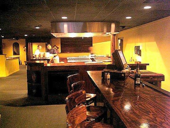 Davison's Steaks: inside - bad picture - sorry