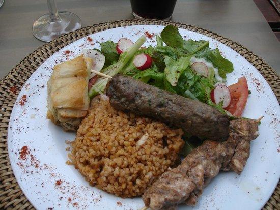 Les Délices du Liban : Hauptgericht
