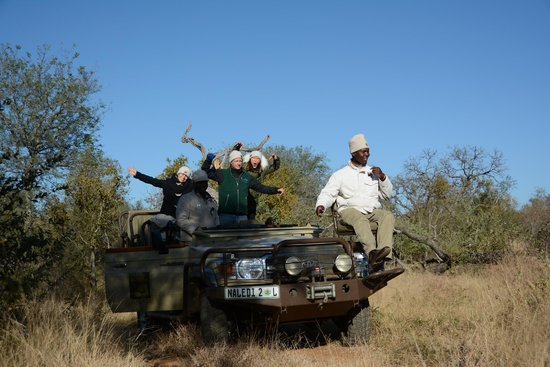 Naledi Bushcamp and Enkoveni Camp : vehicle