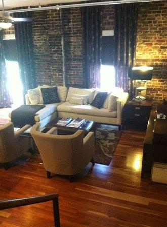 The Restoration : living room
