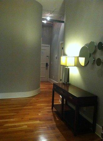 The Restoration: hallway