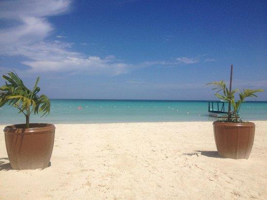 Sandy Haven Resort: Beach