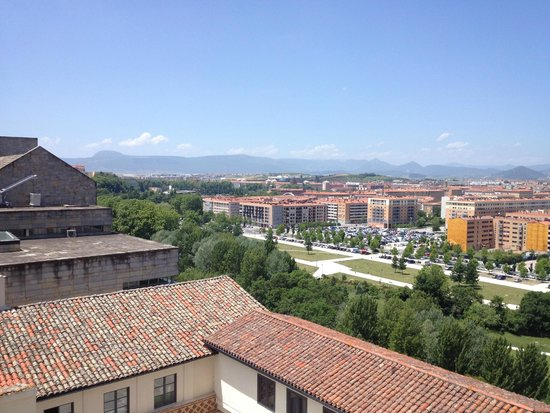 Pamplona Catedral Hotel: View from room - 8th floor