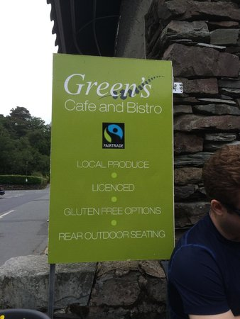 Greens Cafe & Bistro: Green's Cafe and Bistro