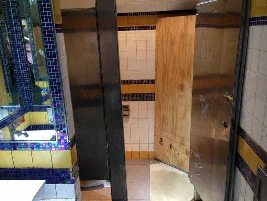 Tick Tock Diner : Restroom is poor!! Needs major cleanup jgravamen