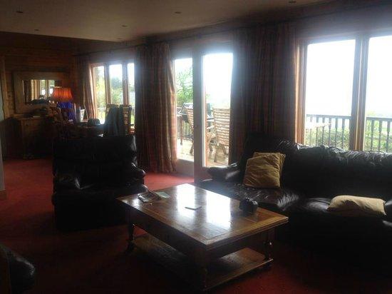 Lodges on Loch Ness: Living room