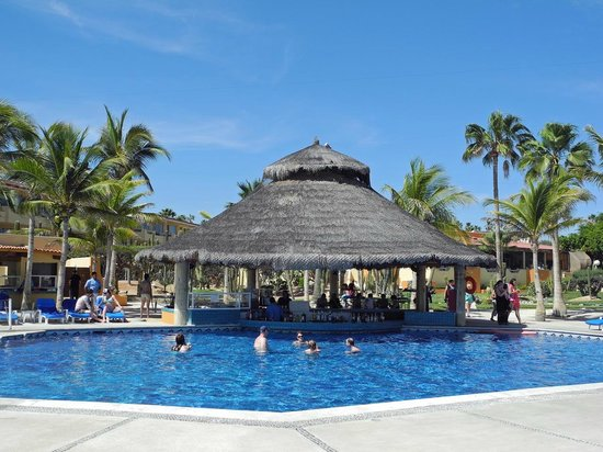 Posada Real Los Cabos: Pool mit Poolbar