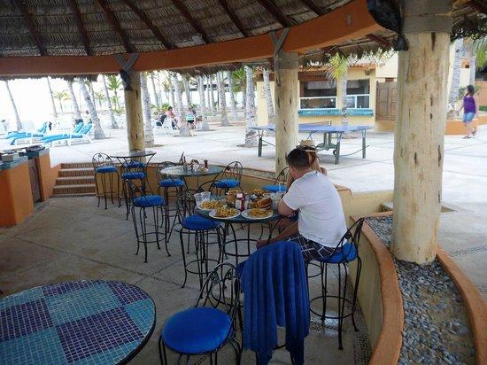 Posada Real Los Cabos: In der Poolbar