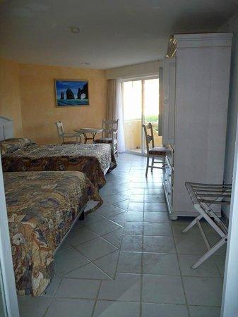 Posada Real Los Cabos: Blick ins Zimmer
